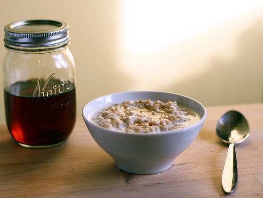 English Porridge is a warming winter breakfast.