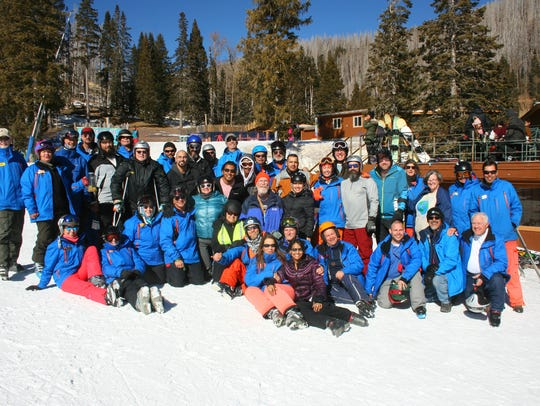San Antonio Amputee Foundation members with Ski Apache