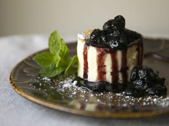 Litchfield's Japanese Cotton Cheesecake.