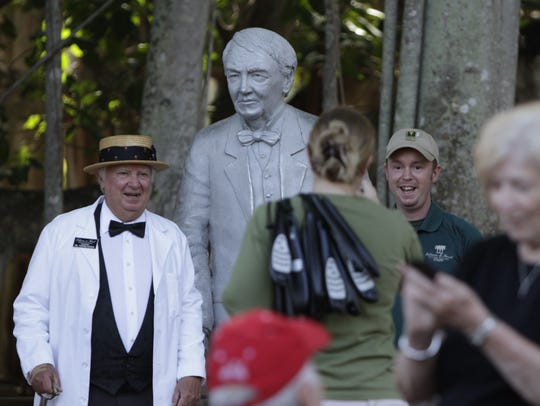 A file photo from the Edison & Ford Winter Estates in Fort Myers, Florida.