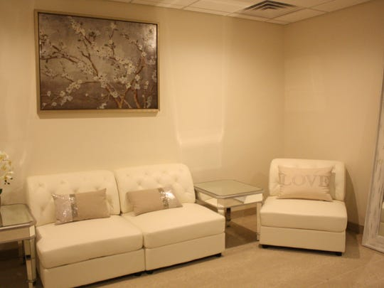 The bridal suite at Riverdale Banquet Hall.