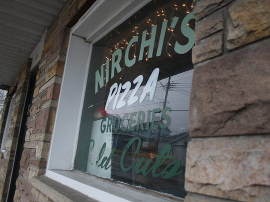 Nirchi's Pizza on Pine Street in Endicott sells pizza,