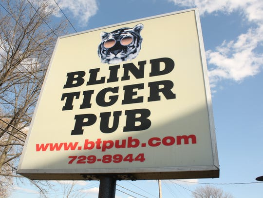 The Blind Tiger Pub is located on 4402 Watson Blvd.