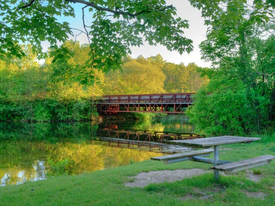 : During warmer months, the Huron River is perfect for fishing, kayaking or canoeing.