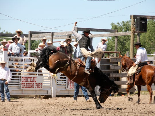The rodeo is one of the biggest draws each year for the Fourth of July Celebration in Choteau.