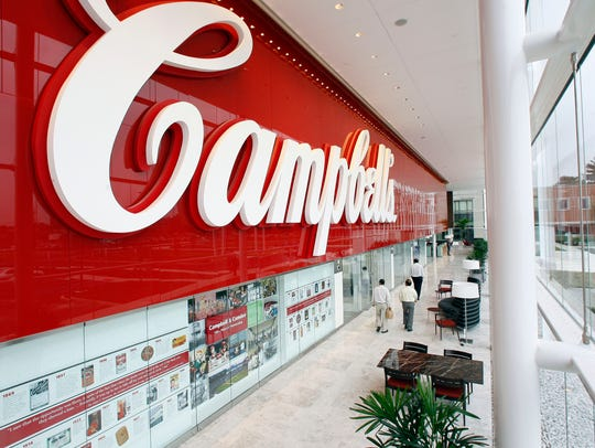 Campbell Soup Co. headquarters in Camden.