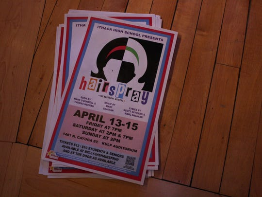 """""""Hairspray"""" will run at Ithaca High School from April 13-15."""