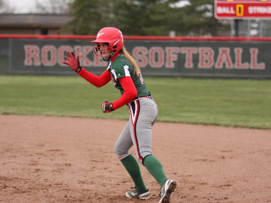 Oak Harbor's Emily Lenke has been off and running since
