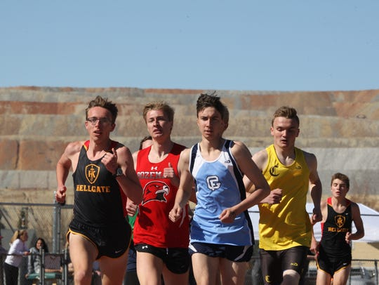 Great Falls High's Teagan Olson finished third in the