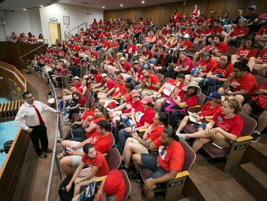 Arizona teacher walkout #RedForEd