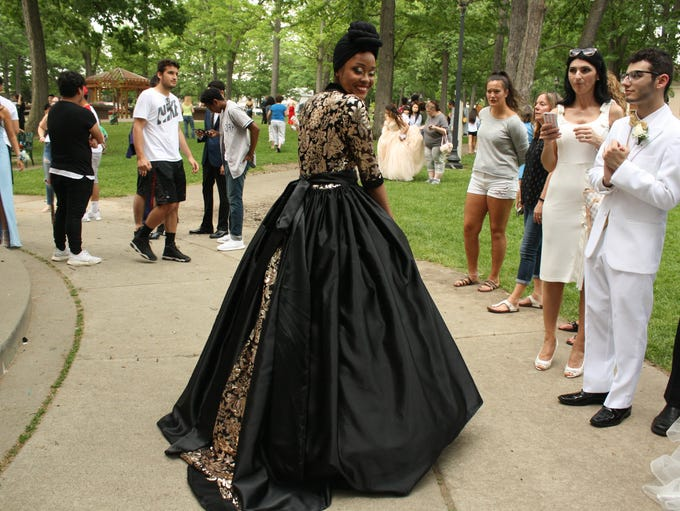 The Binghamton High School senior prom was held at