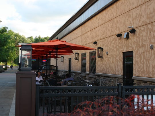 CopperTop Tavern features an outdoor deck as well as