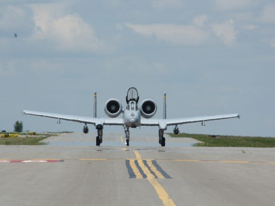 The A-10 Thunderbolt flew into the Greater Binghamton