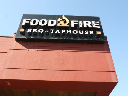 Food & Fire, located on 560 Harry L. Drive in Johnson