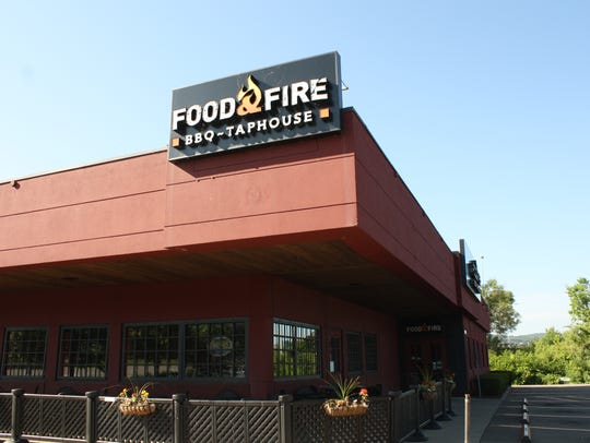 Food & Fire is located on 560 Harry L. Drive in Johnson