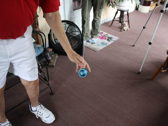 Chuck Pribulick, 75, of Endicott, has been yo-yoing since the age of 10.