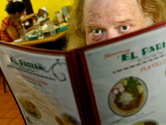 In this June 7, 2010 photo, Jonathan Gold, a food critic