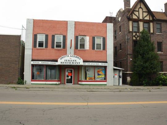 Grotta Azzurra is located on Main Street in Binghamton.