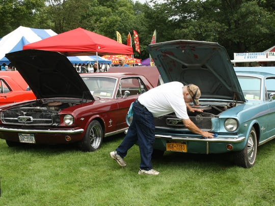 The annual car show continued at the Speidie Fest Saturday.