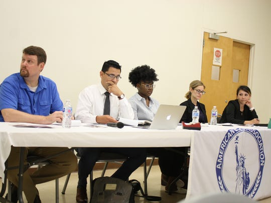 The American Civic Association hosted an Immigration Panel in Binghamton on Aug. 7, 2018.