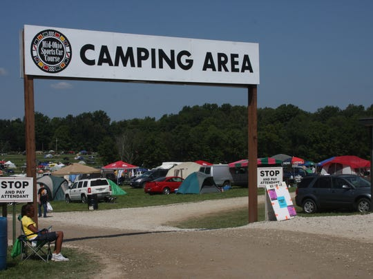 The trip from Indy to Lexington, Ohio is perfect for a weekend camping trip.