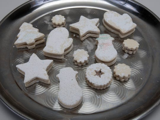 Holiday cookies from Sweet Decadence in Point Pleasant