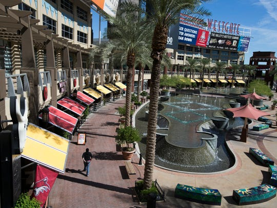 Westgate Entertainment District in Glendale on Oct. 16, 2014.