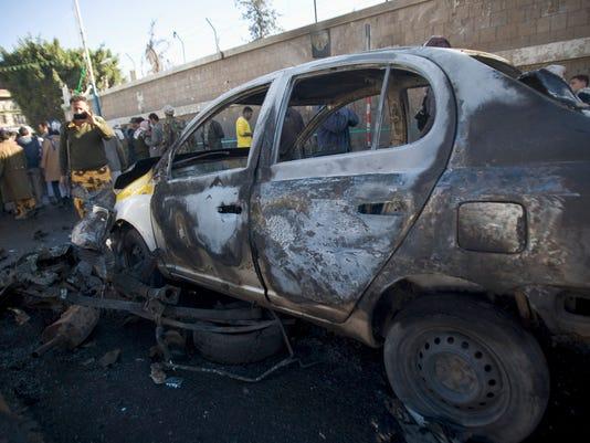 Yemen suicide bomber