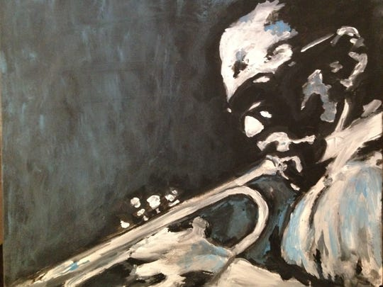 """""""Miles Davis,"""" by Carlyle Potter"""