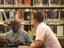 Library's literacy program turning man's life around