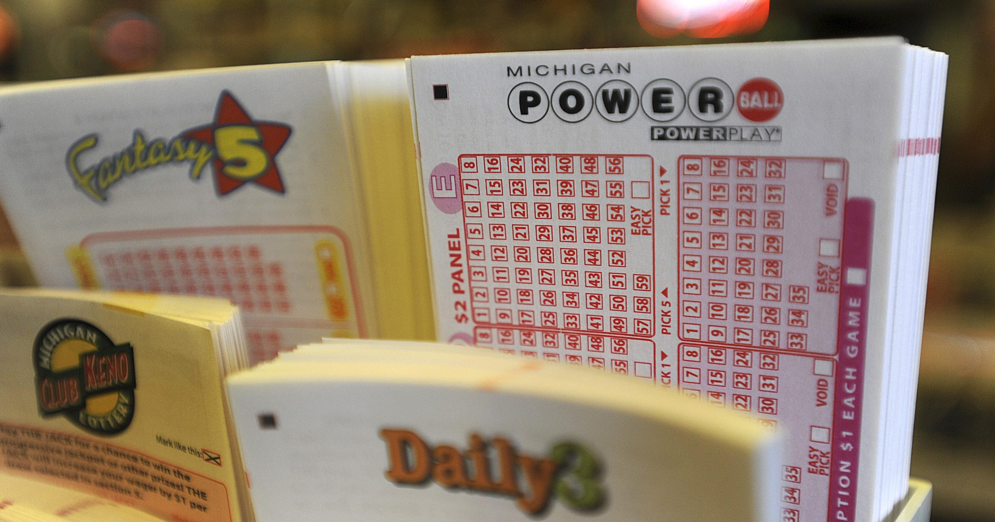 Michigan Powerball Players Are Buying Up Tickets Quickly For Tonight