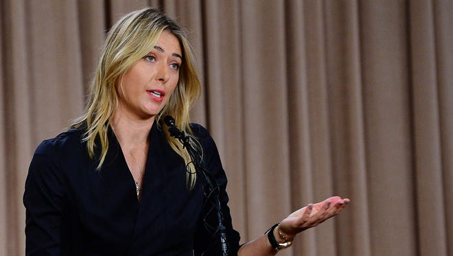 Maria Sharapova was suspended after testing positive for heart drug meldonium at the 2016 Australian Open.