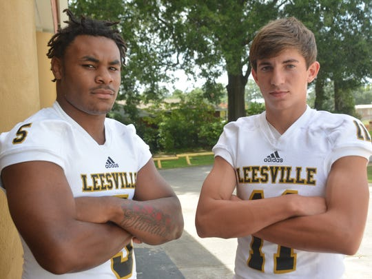 Moses Tolbert (left) and Caden Wheeler