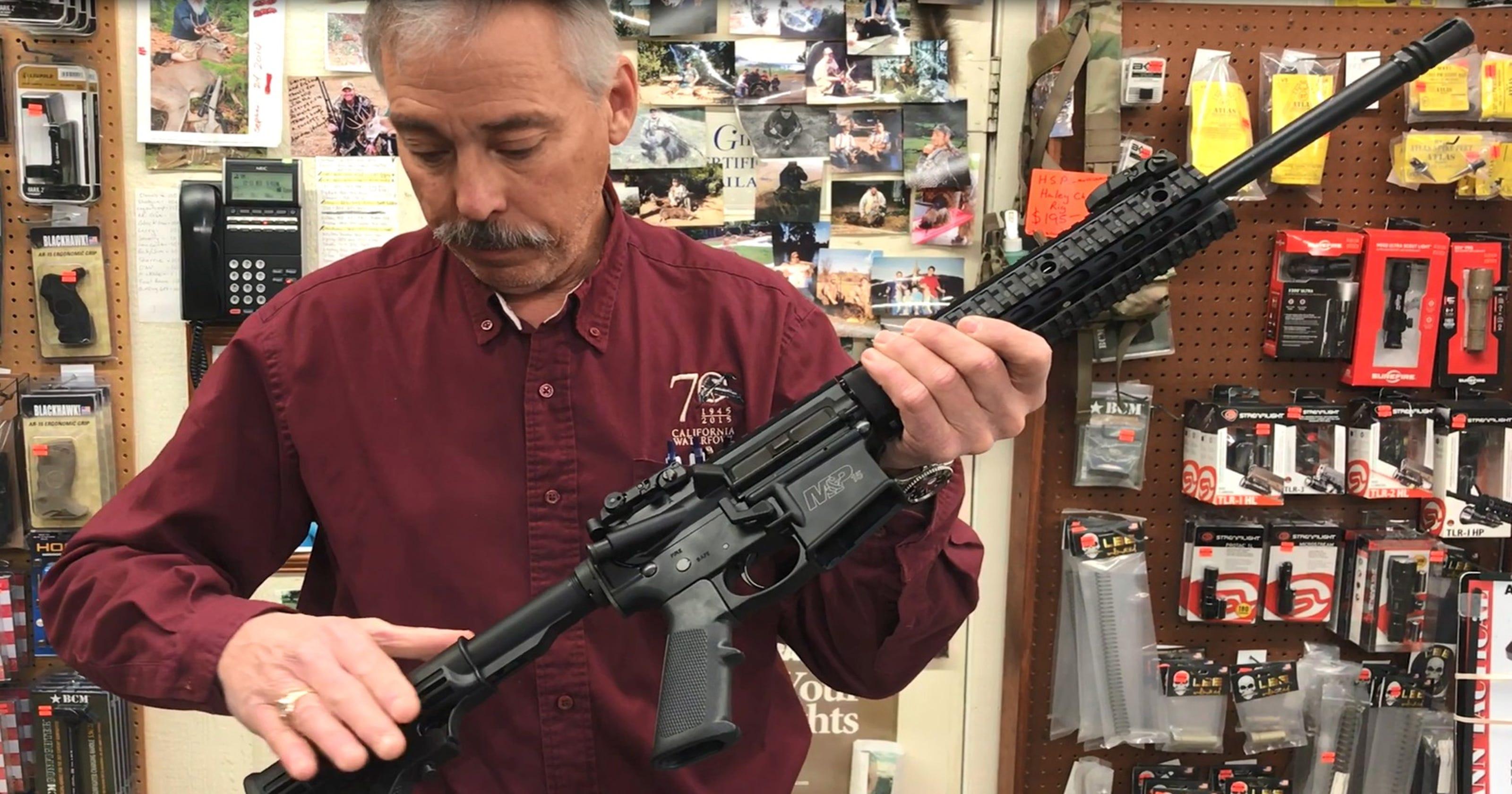 Ways to work around new California gun laws taking effect in