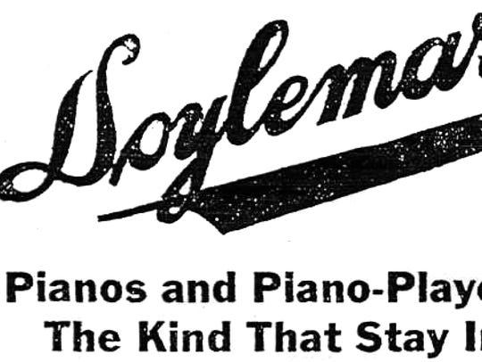 A 1918 Doylemarx advertisement in the Star-Gazette.