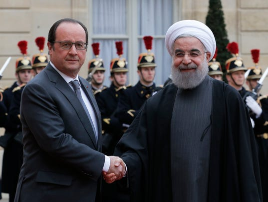 AP FRANCE IRAN I FRA
