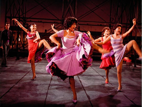 """""""West Side Story,"""" with Rita Moreno (center), gets the Milwaukee Symphony's attention this weekend."""