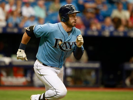 Tampa Bay Rays center fielder Kevin Kiermaier (39)