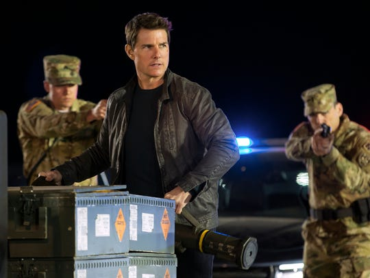 Tom Cruise in 'Jack Reacher: Never Go Back.'