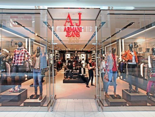 e88bc570f3 Armani Jeans store toasts its opening at the Fashion Mall