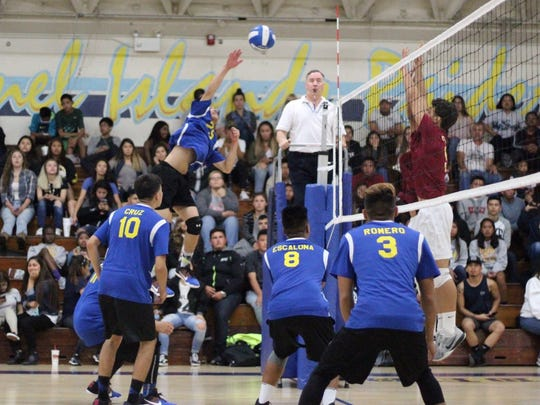 Joshua Carin and the Channel Islands High boys volleyball team are hoping to make a big impact in the CIF-SS Division 3 playoffs.