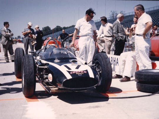 Jack Brabham made his Indianapolis 500 debut in 1961 with the Cooper-Climax.
