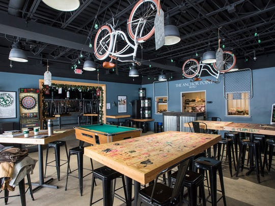 The Anchor Point Bistro has opened inside of War Water Brewery in St. Clair.