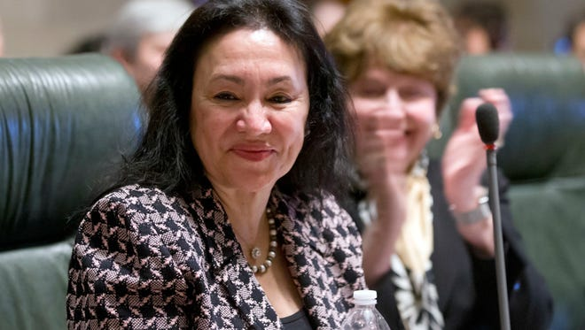 Betty Rosa was elected chancellor of the New York State Board of Regents in March at a meeting in Albany. Rosa is a former superintendent from the Bronx.