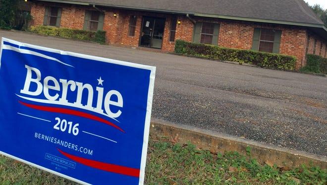 Bernie Sanders' campaign has opened a field office in Lafayette.