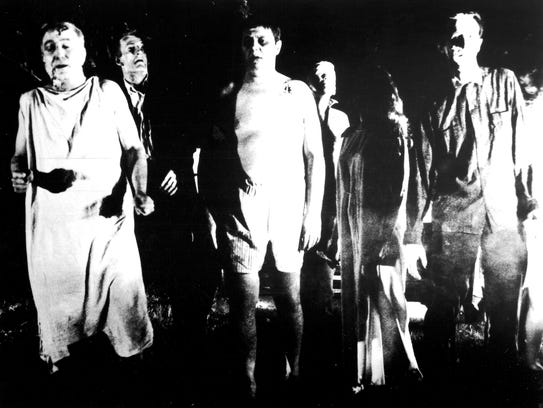 George Romero's 1968 'Night of the Living Dead' popularized