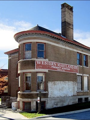 Western Maryland Freight Station, North George Street, York, PA (S. H. Smith, 2015 Photo)