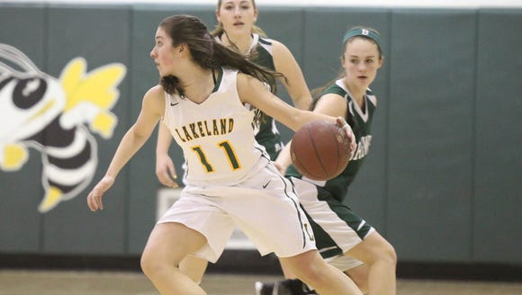 Lakeland defeats Brewster 50-42 in girls basketball