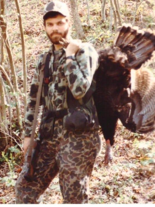 Tim Mullen with turkey