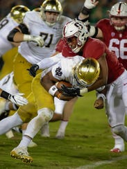 Nov 25, 2017; Stanford, CA, USA; Notre Dame Fighting